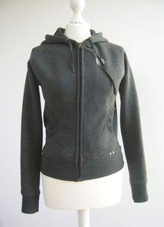 Kup mój przedmiot na #Vinted http://www.vinted.pl/kobiety/bluzy/8576591-szara-bluza-z-kapturem-ms-na-suwak