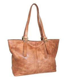 Love this Nut My Havana Leather Tote on #zulily! #zulilyfinds