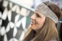 Vanilla Latte Lacy Headband from Bolder Band™ Headbands