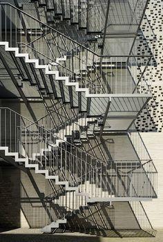 Kolumba Museum fire stair | Peter Zumthor | Photo : Yuri Palmin via Flickr