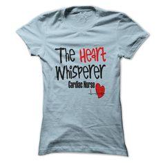 Cardiac Nurse T-Shirt The Heart Whisperer - #homemade gift #food gift. LOWEST SHIPPING => https://www.sunfrog.com/LifeStyle/Cardiac-Nurse-T-Shirt-The-Heart-Whisperer.html?68278