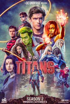 [Artwork] I edited the Titans Season 2 poster to bring in some much needed color Gambit Movie, New Mutants Movie, Teen Titans, Titans Tv Series, Spy Girl, Marvel Infinity, Infinity War, Sailor Moon Character, Background Hd Wallpaper