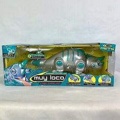 1999 Trendmasters Muy Loco Cyber Chameleon Robot Electronic Wireless RC Toy New Rc Toy, Instagram Shop, Chameleon, Cyber, Robot, Handmade Items, Etsy Seller, 90s Toys, Electronics