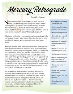 Mercury Retrograde. I officially believe in it after this week.
