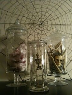 Dollar Tree Halloween Decor ~Apothecary Style