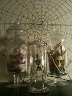 Dollar Tree Halloween Decor ~Apothecary Style