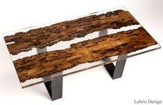 Descarregue o catálogo e solicite preços de Briccola e resina | mesa de jantar By antico trentino, mesa de jantar retangular de madeira maciça, Coleção lebrìc design - madeira e resina