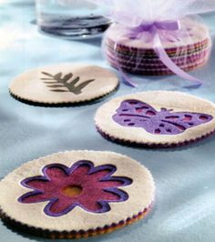 Botanical Coaster SetBotanical Coaster Set