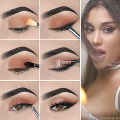 Eye Makeup Tips For Beginners Here we have compiled simple eye makeup tips pictures. They can help you become an eye makeup expert.Here we have compiled simple eye makeup tips pictures. They can help you become an eye makeup expert. Simple Makeup Looks, Simple Eye Makeup, Makeup For Green Eyes, Blue Eye Makeup, Smokey Eye Makeup, Eyeshadow Makeup, Yellow Eyeshadow, Sleek Makeup, Contour Makeup
