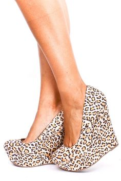 Leopard wedges... yes