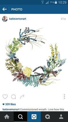 Katie Vernon wreath