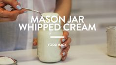 How to make whipped