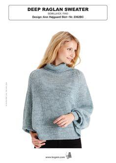 72660bc55 Deep Raglan Sweater in BC Garn Semilla Exra Fino - 2362BC - Downloadable PDF