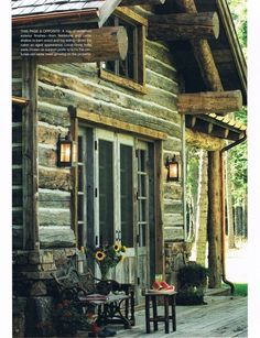 Whimsical Raindrop Cottage, sunflowersandsearchinghearts: An OMG Cabin Home...