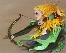 Glorfindel - papercraft by Ten thousand leaves