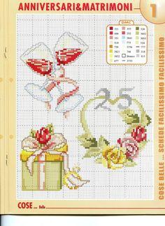 Cross Stitch Geometric, Cross Stitch Owl, Cross Stitch Cards, Cross Stitching, Cross Stitch Embroidery, Wedding Cross Stitch Patterns, Christmas Journal, Mug Rugs, Love And Marriage