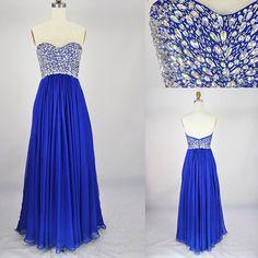 Silhouette:+A-line Neckline:+Sweetheart Hemline/Train:Floor-length Sleeve+Length:Sleeveless Embellishment:Rhinestone Back+Details:Zipper Fabric:Chiffon   Size:+standard+size+or+custom+size,+if+dress+is+custom+made,+we+need+to+size+as+following+ bust______+cm/inch+ waist______cm/inch+ ...