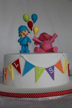 Markell's Pocoyo Cake by MyCakes.com.au, via Flickr