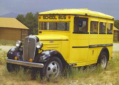 antique school bus | Since we are headed towards the end of the school year--actually here ...