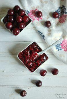 Konfitura wiśniowa by Smakiempisany Cherry, Fruit, Food, Essen, Meals, Prunus, Yemek, Eten