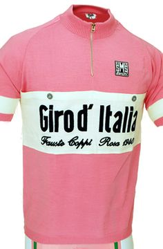 Giro D' Italia Pink Wool Heritiage Jersey Cycling News, Cycling Art, Cycling Jerseys, Road Cycling, Cycling Outfit, Cycling Clothes, Vintage Cycles, Vintage Jerseys, Jersey Shirt