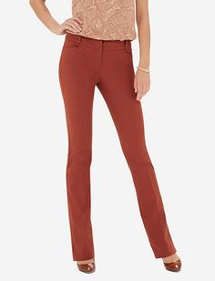Signature Stretch Bootcut Pants from THELIMITED.com