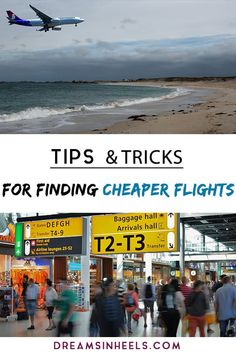 Looking to save money on airfare? Here you can find practical tips and tricks from a travel expert on how to find cheap flights to anywhere. Let us help you get those dirt cheap flights everyone else is talking about. Cheap Flights how to get Travel Expert, Europe Travel Tips, Travel Info, Packing Tips For Travel, Cheap Travel, Travel Advice, Budget Travel, Travel Usa, Travel Hacks