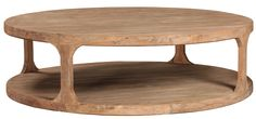 20 solid Wood Round Coffee Table - Home Office Furniture Desk Check more at http://www.buzzfolders.com/solid-wood-round-coffee-table/
