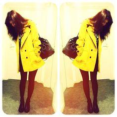 Bumblebee, yellow coat! <3