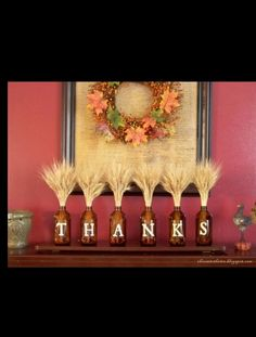 Thanksgiving centerpieces Pinned by Pink Pad, the women's health app with the built-in community!