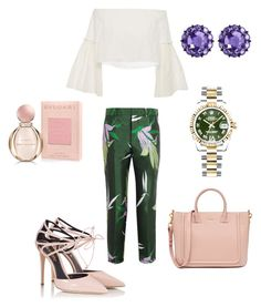 """Untitled #240"" by mrssofia on Polyvore featuring Marni, Fratelli Karida, Rosetta Getty, Rolex, Color My Life and Bulgari"