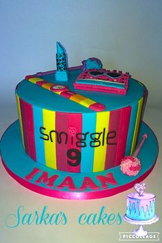 Smiggle cake #sarkascakes #smigglecake