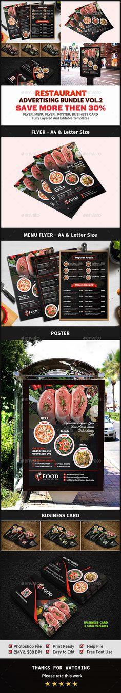 Restaurant Advertising Bundle Vol.2