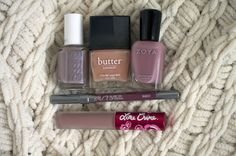 Neutral makeup doesn't have to be boring! Here are some super interesting and CHIC neutrals for face and nails.
