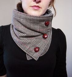 Интересная идея шарфика