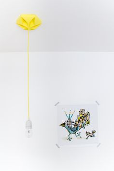 Kroonuppe autumn yellow Studio Snowpuppe with illustration from Sofie Boersting