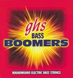 GHS L3045X Light Boomers Long Scale Electric Bass 4 String Set (40-95) by GHS. $18.99. Roundwound Nickel-Plated Steel Passion, Power and Performance. The Dynamite Alloy Boomers continue to be the standard to play by. The bright, long-lasting tone continues to be THE power string. Extra core strength provides durability while the nickel plating babies your frets. GHS strings are the music industry's choice whether you want a fat, bright tone, or a bluesy, warm & mellow ton...