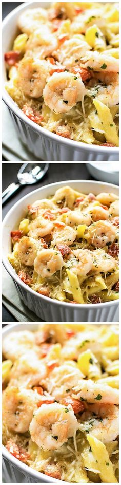 Baked Parmesan Shrimp - Bring the iconic taste of Olive Garden's baked parmesan shrimp to the comfort of your own home with this spot-on copycat recipe.