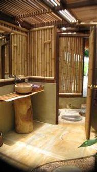 bamboo architecture & home design ideas: Bamboo asian bathroom ...