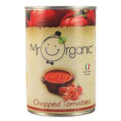 Mr Organic chopped tomatoes