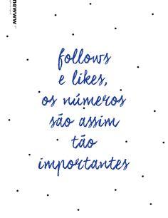 Follows e likes, os números são assim tão importantes?
