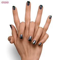 Magnify your mani with a coat of 'for the twill of it' and a dash of 'stylenomics.'