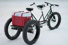 Tandem Fat Bike || via Steven Wilke