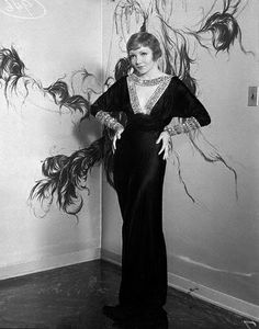 June 1933 claudette colbert