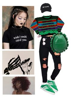 """""""smh"""" by jessica-mcmxcix ❤ liked on Polyvore featuring adidas, Boohoo, Casio, Jason Wu and pocpolyvore"""