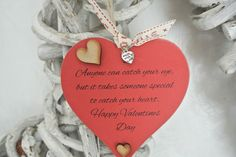 Anyone can catch your eye Heart - Divine Shabby Chic
