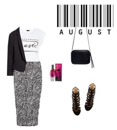 """""""Outfit #4"""" by pasquiline on Polyvore featuring Boohoo, Aquazzura, Zara, H&M and ESCADA"""