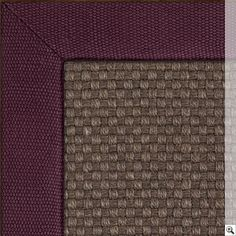 Sisal Basket Accents Rug. Border: Linen Basketweave / Burgundy Rug Store, Aztec Rug, Natural Rug, Accent Rugs, Rugs Online, Basket Weaving, Rugs On Carpet, Burgundy, Colours