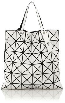 Lucent Basic Faux Leather Tote
