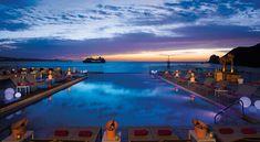 Beach sunset at Breathless Cabo San Lucas!
